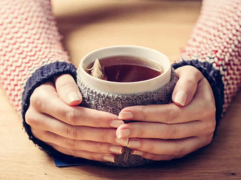 Vivazen in Hot Tea