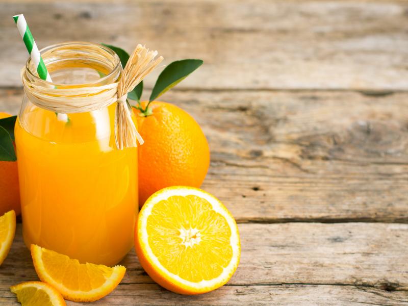 Vivazen and Orange Juice