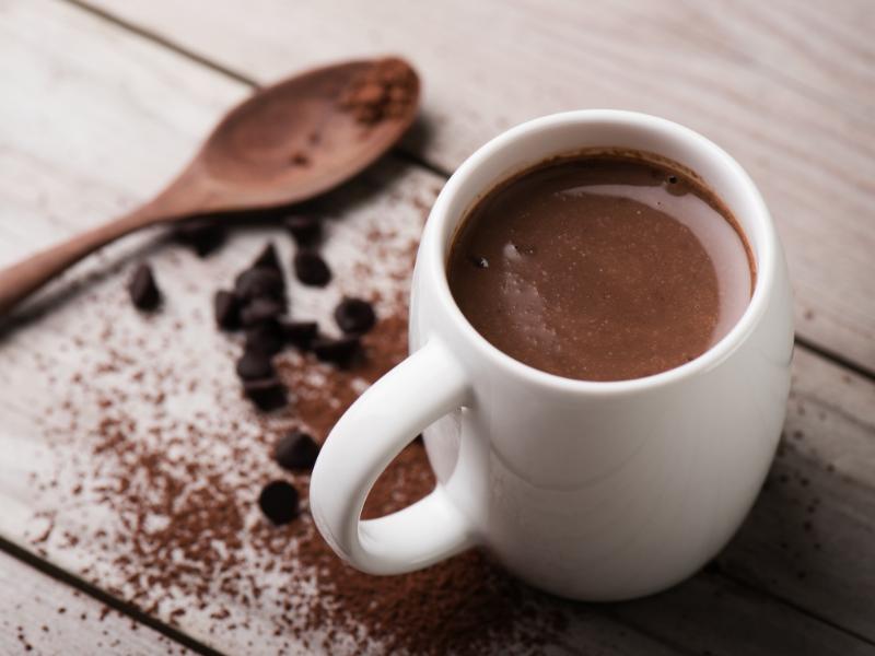 Hot Chocolate with Vivazen