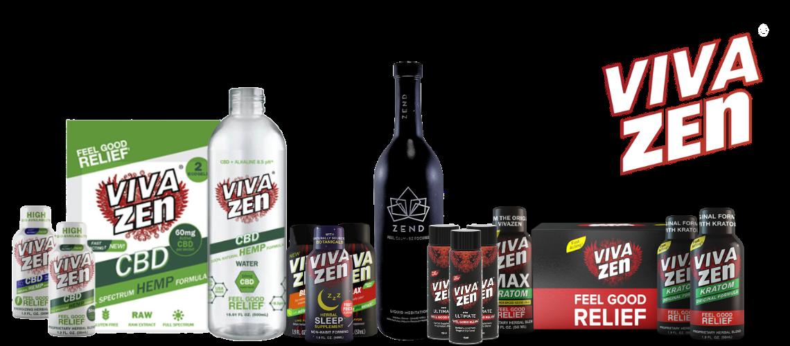 Vivazen Feel Good Relief Products